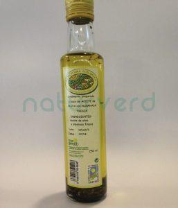 aceite oliva albahaca castellon
