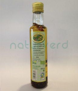 aceite oliva cinco pimientas castellon