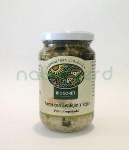 arroz lentejas algas biogoret castellon