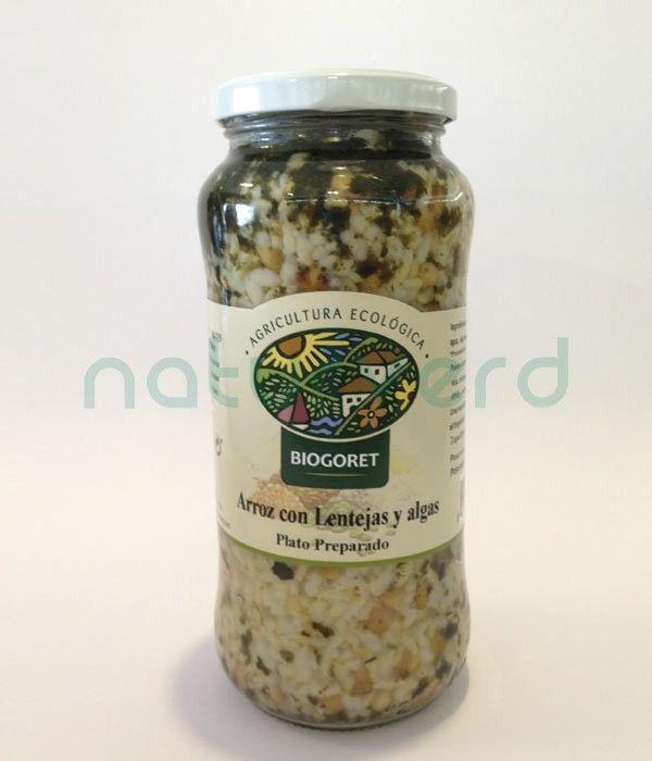 arroz lentejas algas castellon