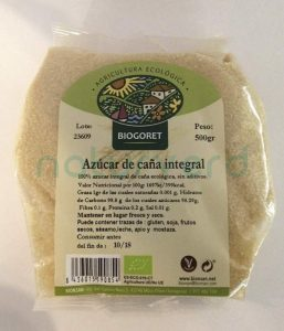 azucar cana integral castellon