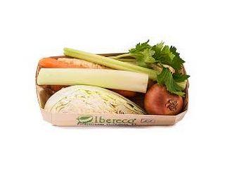 bandeja caldo verduras castellon