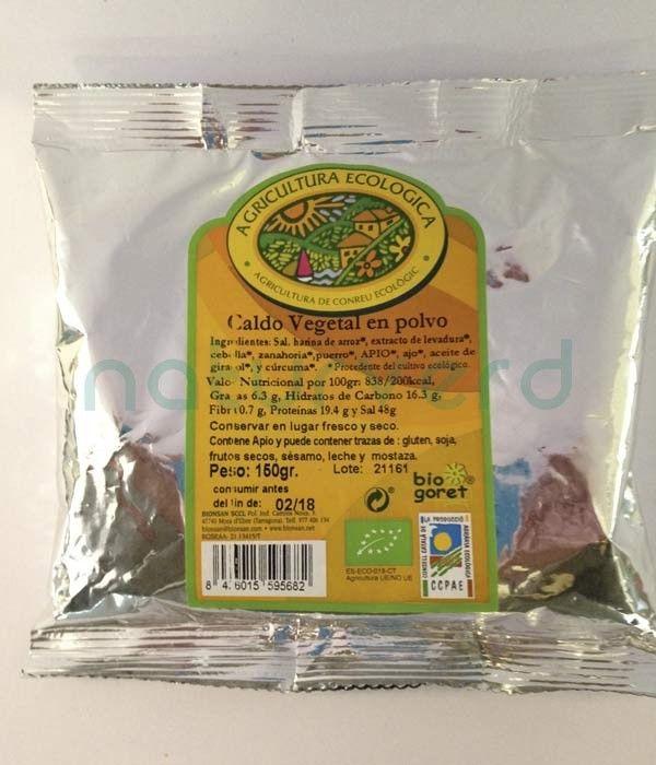 caldo vegetal polvo castellon