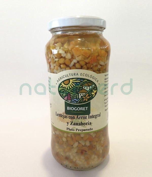 lentejas arroz integral zanahorias castellon